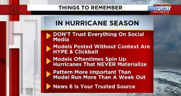 Things to remember this hurricane season