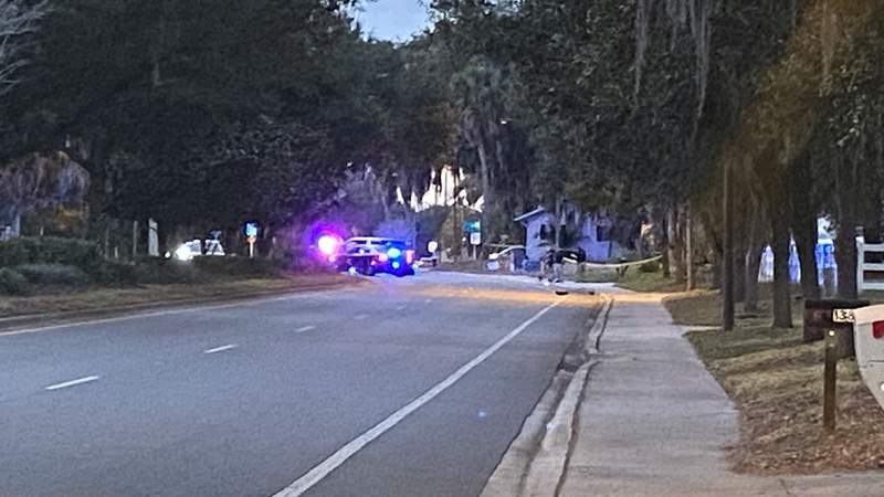 A man was killed in a crash in Kissimmee on Friday, according to the Osceola County Fire Rescue.