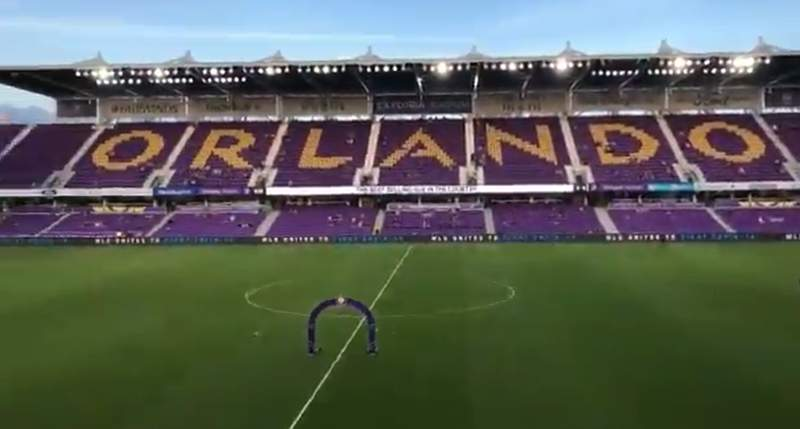 Rookie Daryl Dike scored two goals in the second half and Orlando City SC beat Nashville SC 3-1 in the only game played in Major League Soccer on Wednesday night.