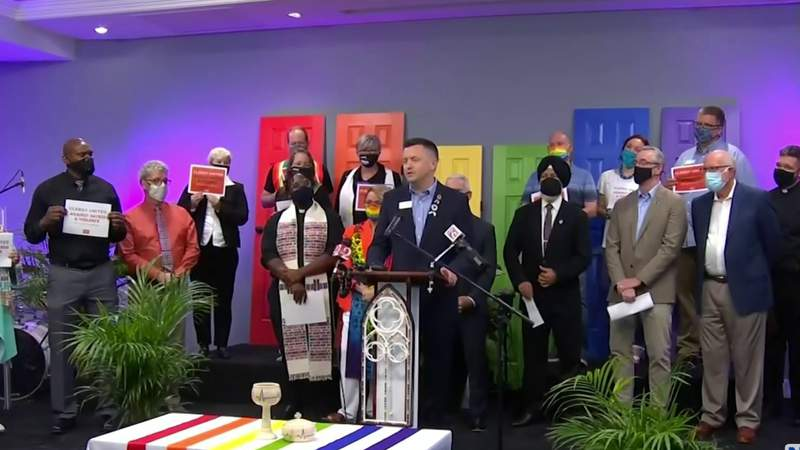 Faith leaders call for more LGBTQ+ protections