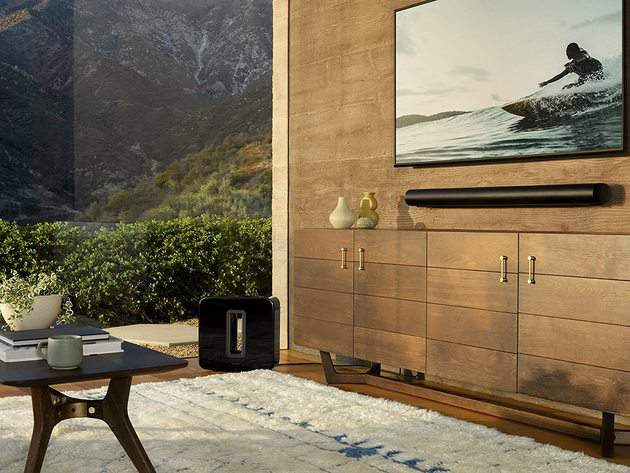 This Sonos soundbar was specially tuned with the help of Oscar-winning sound engineers to emphasize the human voice.