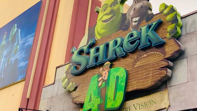 Shrek 4D attraction at Universal Orlando