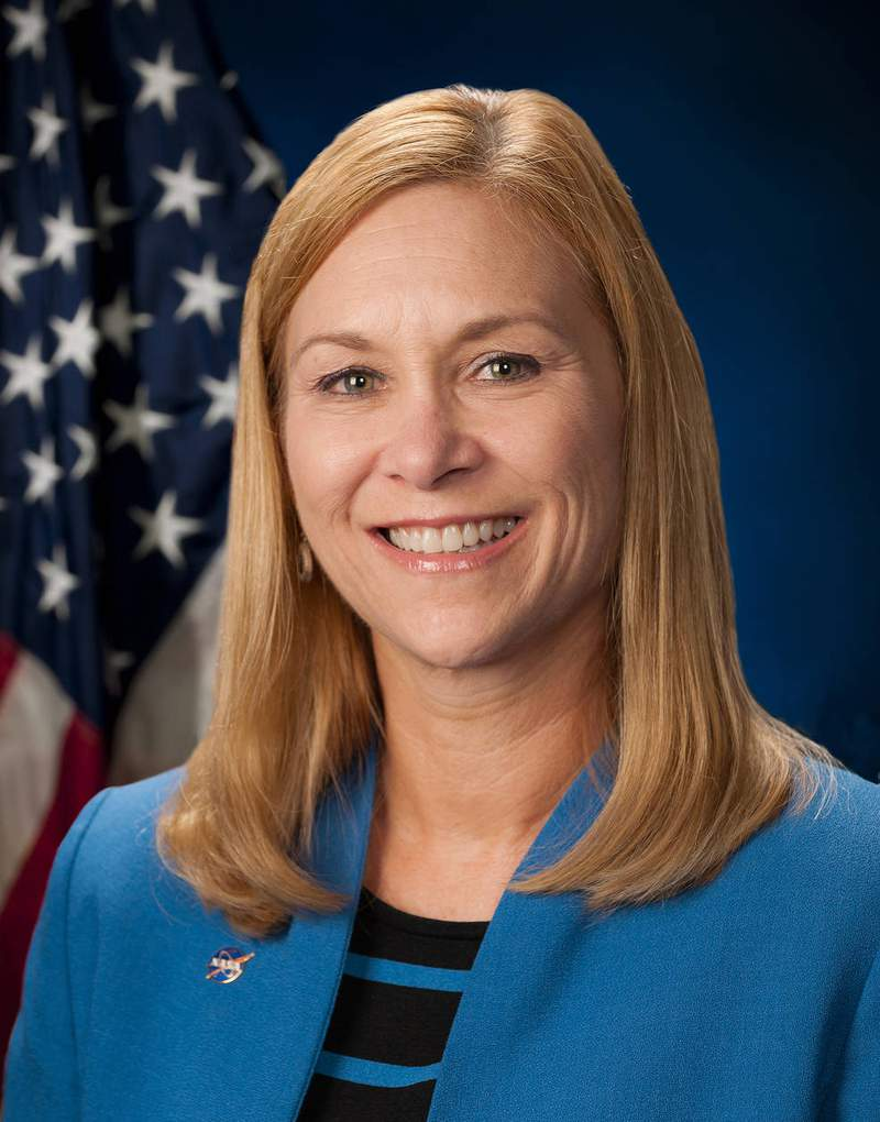 Janet Petro is the new director of Kennedy Space Center.