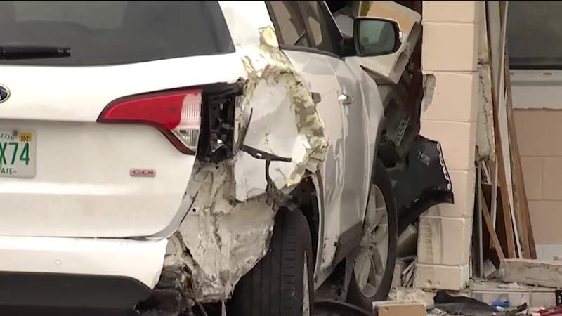 Stolen ambulance slams into Orange County home