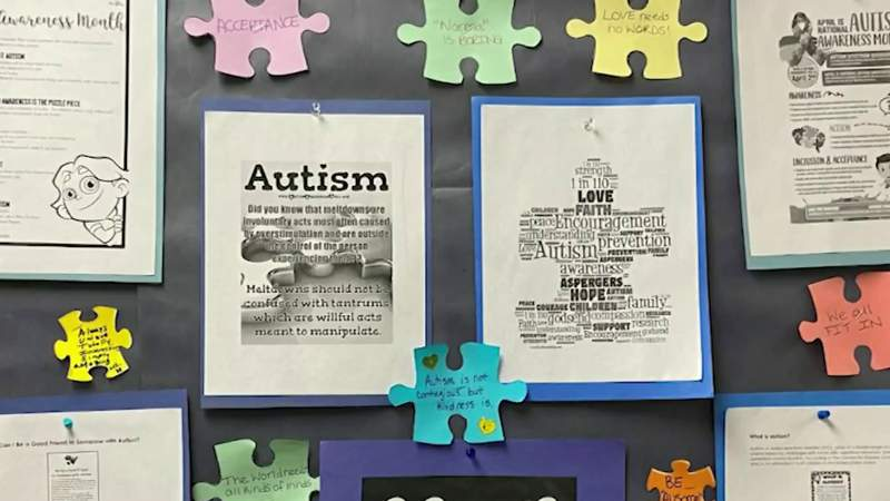 Orange County teacher gets results for students with autism at Camelot Elementary