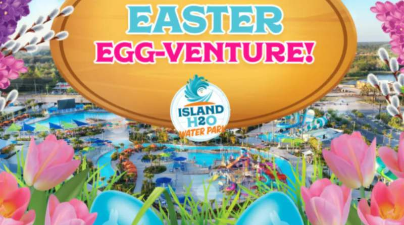 Easter Egg-Venture at Island H2O Water Park