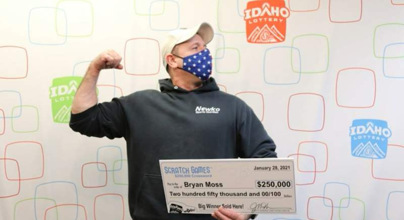 Man wins lottery for the sixth time (Credit: Idaho Lottery)