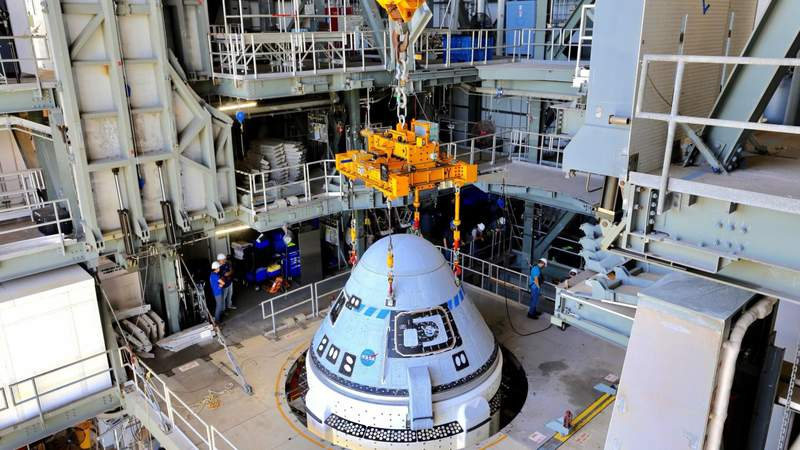 Boeing's Starliner spacecraft arrives at Florida launch facility ahead of test flight to space station. (Image: Boeing)