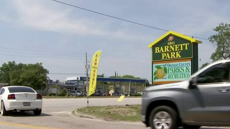 Barnett Park coronavirus mobile testing site opens