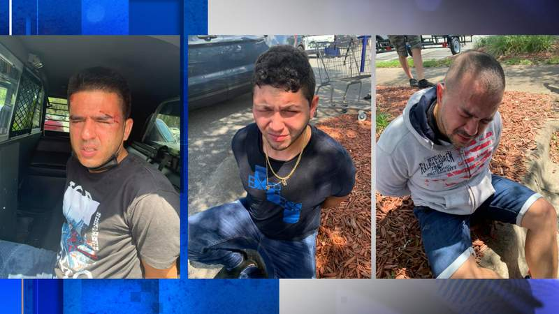Police: Three men arrested after car burglaries in multiple Florida counties