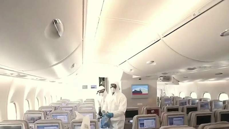 These are the precautions airlines are taking to prevent the spread of the coronavirus
