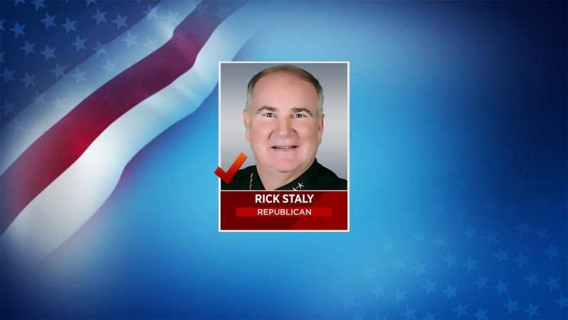 Republican Rick Staly has been declared the winner of the Flagler County sheriff race.