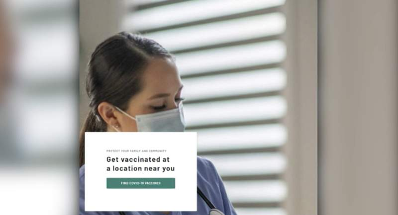 CDC launches 'vaccine finder' tool, web site