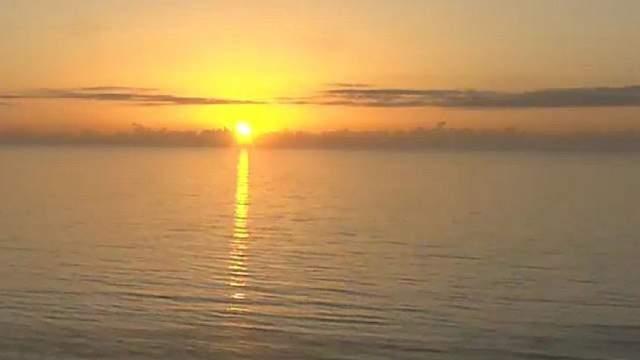 Sunrise in Central Florida.