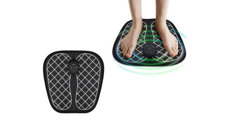Relieve aches and pains with this 2-in-1 foot massager and muscle simulator
