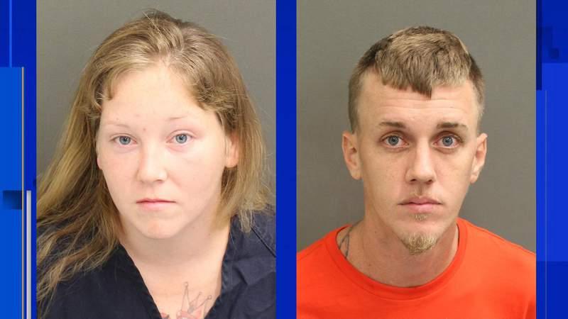 Kimberly Hunt, 30, and Justin Nickolai, 32.