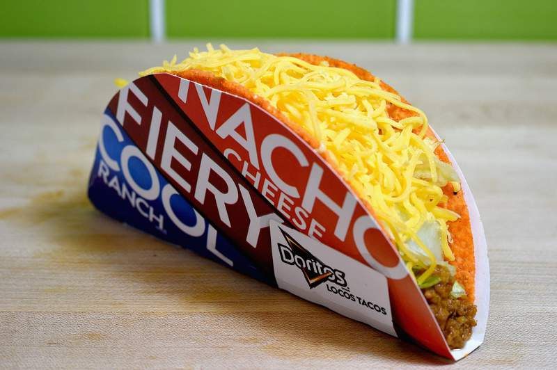 The Doritos Locos Taco continues to be a best seller for Taco Bell.
