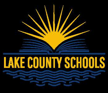The official logo of Lake County Public Schools.