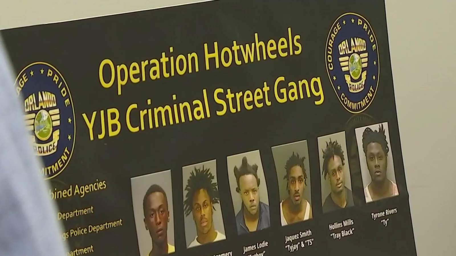 5 Orlando Gang Members Arrested In 2 Million Statewide Crime Spree