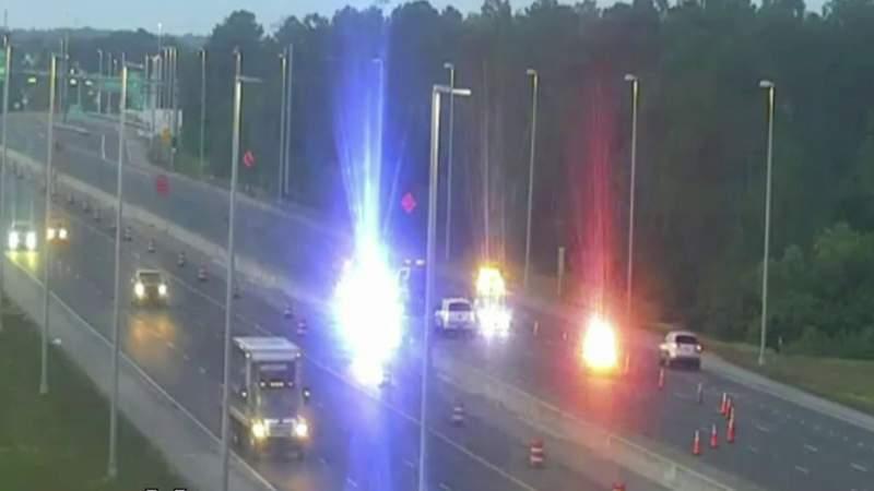 Fatal crash blocks Florida Turnpike near SR-528 in Orange County