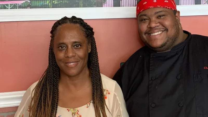 Shryl Johnson and her son, chef Kevin Johnson, opening Lizette's Cajun Bistro in Melbourne