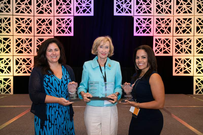 The Orange County Library System was honored at the annual  Florida Library Association conference in Daytona on May 20, 2021.