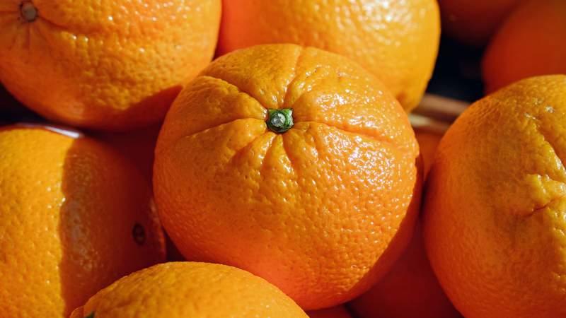 File photo of oranges