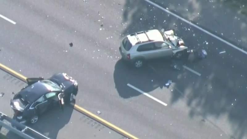 Man killed in 3-vehicle crash on I-4 in Volusia