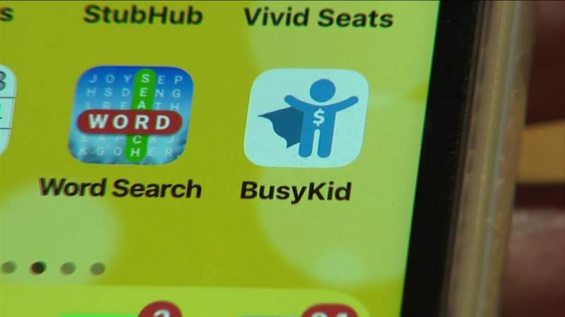 App turns children's chores into money lessons, investments