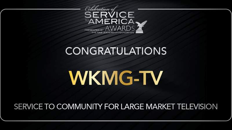 News 6′s 'Driving Change' initiative leads to national community service award