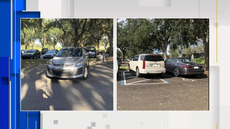 Parking fail photos submitted by viewers