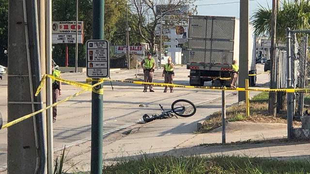 Authorities are investigating a fatal crash Orange Blossom Trail and Kaley Avenue.