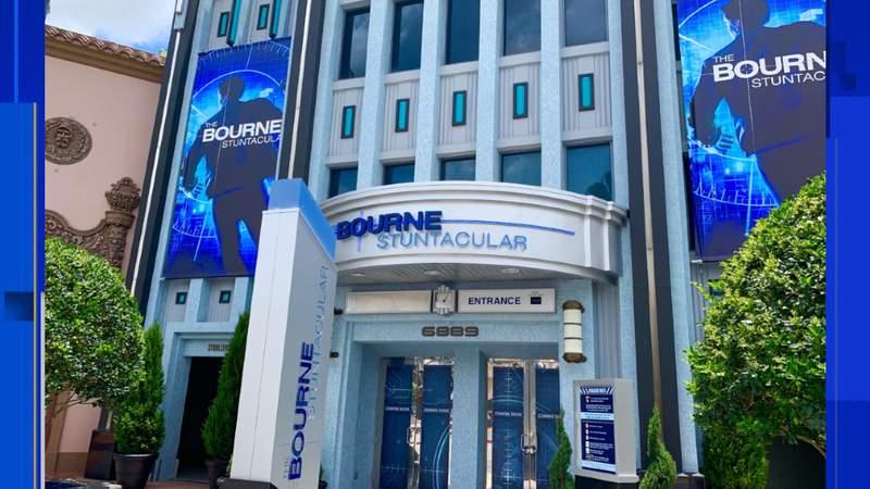 The Bourne Stuntacular show set to open at Universal Orlando Resort